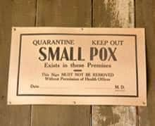 WHO proclaimed smallpox to be eradicated